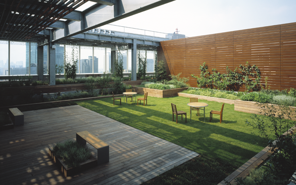 Holland hills mori tower facility layout office leasing in japan mori building co ltd - Lay outs garden terrace ...